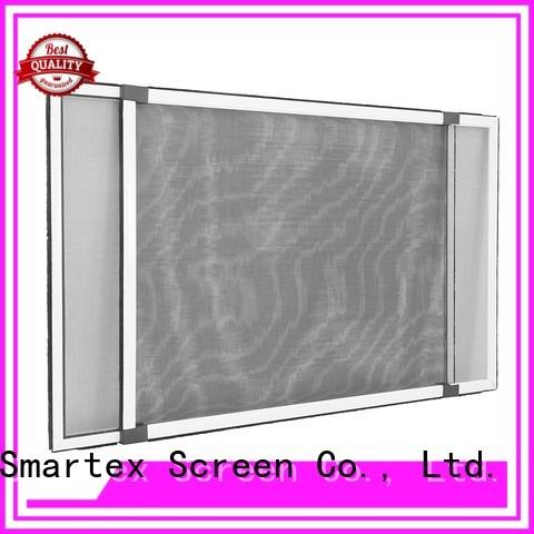 Smartex factory price retractable fly screen doors supplier for home