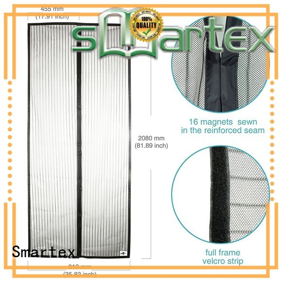 Smartex magnetic closing fly screens company for comfortable life