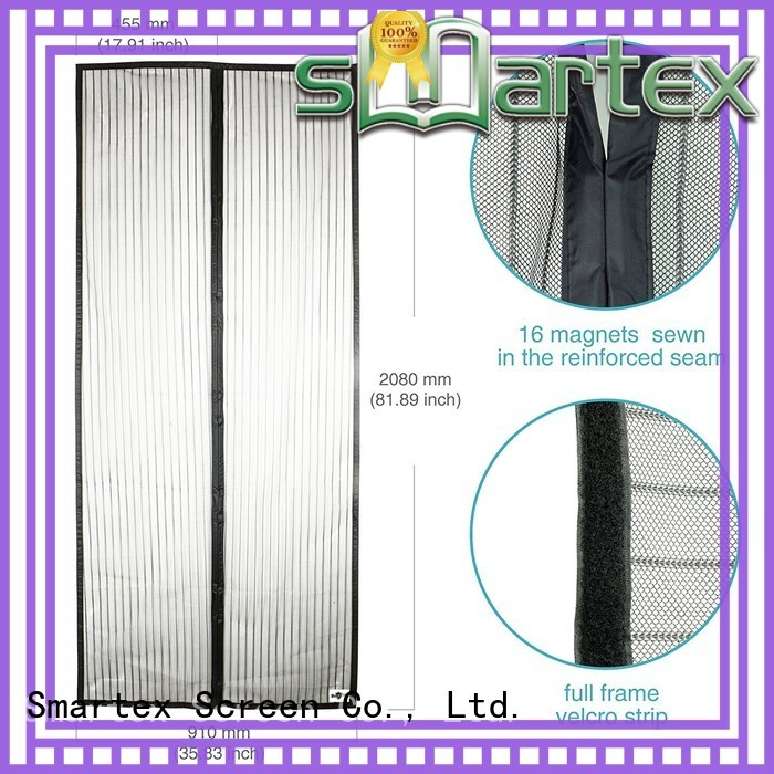 Smartex magnetic fly screen door curtain best manufacturer for preventing insects
