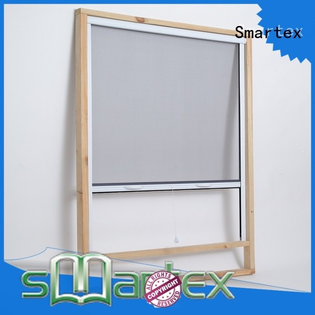 Smartex insect screen roller blinds factory direct supply for home depot
