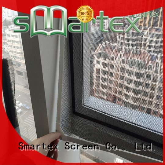 Smartex magnetic bug screen series for home use