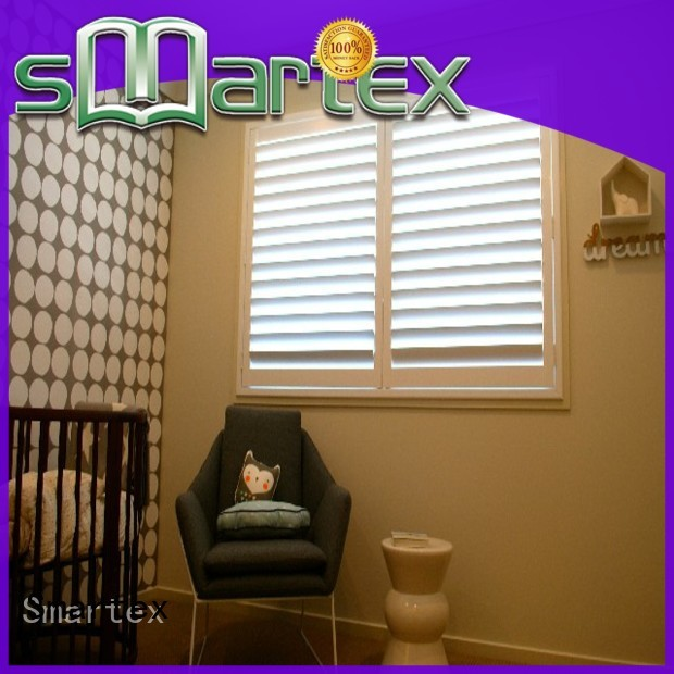 Smartex best value pvc window shutters with good price for preventing insects