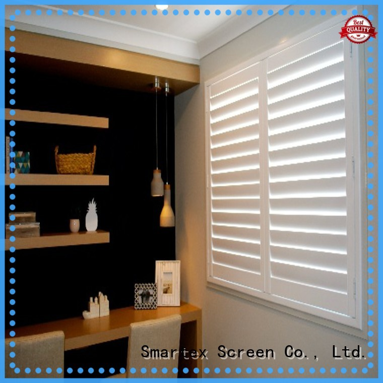 Smartex pvc shutter blinds wholesale for preventing insects