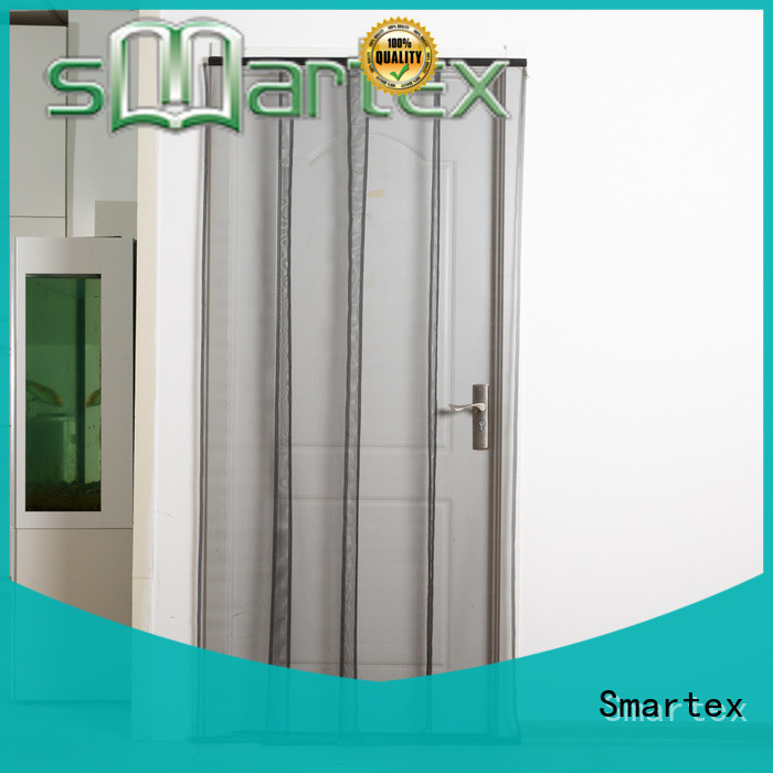 Smartex top fly curtains for patio doors manufacturer for home use