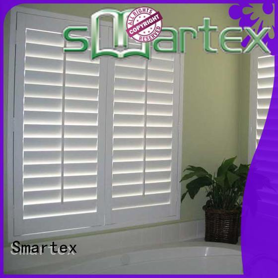 Smartex pvc window shutters exterior supply for home use
